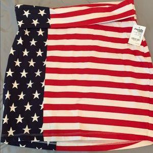 American Flag Skirt